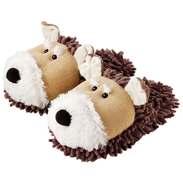 Aroma Home Fun for Feet - Fuzzy Slippers - Dog