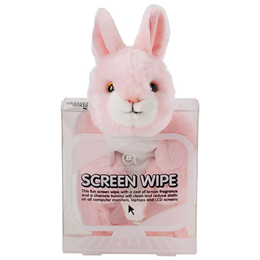 Aroma Home Screen Wipe - Pink Rabbit - Lemon Fragrance