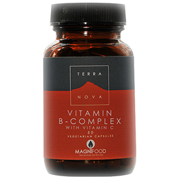 TERRANOVA Vitamin B-Complex with Vitamin C - 50 Vegicaps