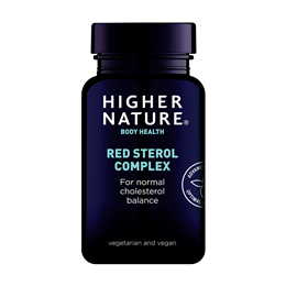 Higher Nature Red Sterol Complex - Beta Sitosterol - 30 Tablets
