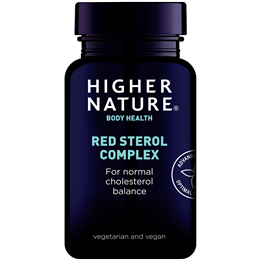 Higher Nature Red Sterol Complex - 90 Tablets