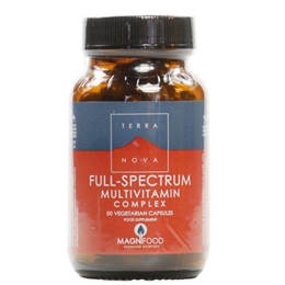TERRANOVA Full-Spectrum Multivitamin Complex - 50 Vegicaps
