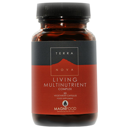 TERRANOVA Living Multinutrient Complex - 50 Vegicaps