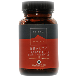 TERRANOVA Beauty Complex For Skin Hair & Nails - 50 Vegicaps