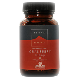 TERRANOVA Cranberry 300mg - 50 Vegicaps