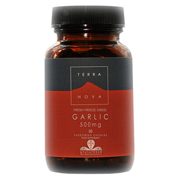 TERRANOVA Garlic 500mg - 50 Vegicaps