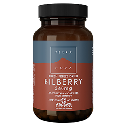 TERRANOVA Bilberry 360mg - 50 Vegicaps