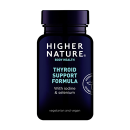 Higher Nature Thyroid Support Formula - Tyrosine - 60 Vegicaps