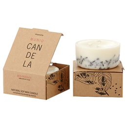 Munio Candela Scented Soy Wax Candle - Cloves - 220ml