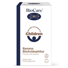 BioCare Children`s Banana Bio-Acidophilus - 60g Powder