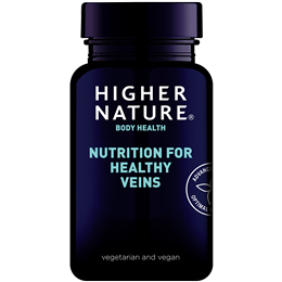 Higher Nature Nutrition For Healthy Veins - 90 Vegicaps