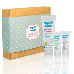 Green People Hello Baby - Boy - Baby Salve, Lotion, Wash & Shampoo