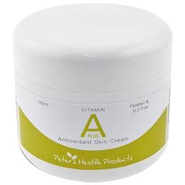 Peters Health Products - Vitamin A Plus - Antioxidant Skin Cream-125ml