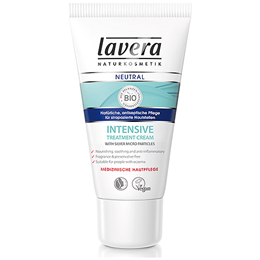 lavera Neutral Intensive Treatment Cream - For Sensitive Skin - 50ml