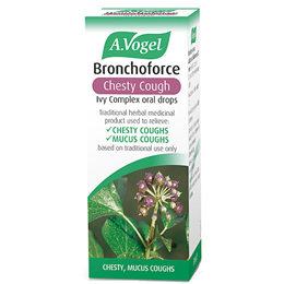 A Vogel Bronchoforce - For a Chesty Cough - Tincture - 50ml