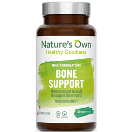 Natures Own Bone Support Multi Nutrient Formula - 60 Capsules