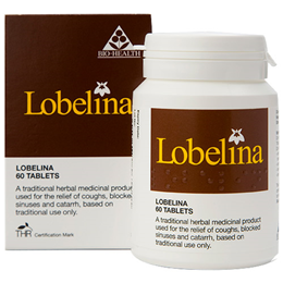 Bio Health Lobelina Compound - Herbal Cough Remedy - 60 Tablets