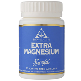 Bio Health Extra Magnesium - 60 x 125mg Vegicaps