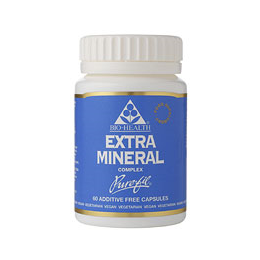 Bio Health Extra Mineral Complex - Herbal Multi Mineral - 60 Vegicaps