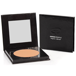 Green People Organic Make-Up - Pressed Powder - Honey Medium - 10g