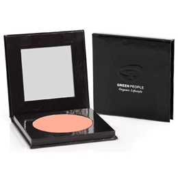 Green People Organic Make-Up Mineral Powder Blush - Rose
