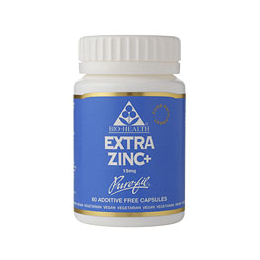 Bio Health Extra Zinc - 60 x 15mg Vegicaps