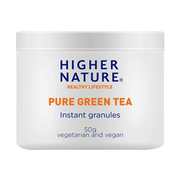Higher Nature Pure Green Tea - Instant Granules - 50g