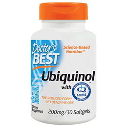 Doctors Best Ubiquinol - Kanekas QH - CoEnzyme - 30 x 200mg Softgels