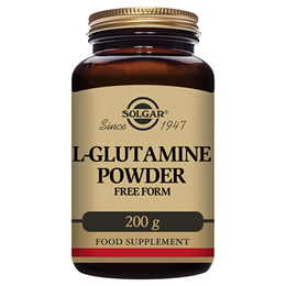 Solgar L-Glutamine Powder - Gut Health & Immune Support - 200g Powder - Best before date is 30th September 2017