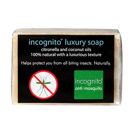 incognito Luxury Soap - Citronella and Coconut Oils - 100g