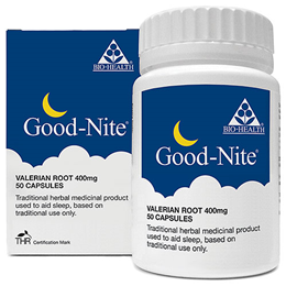 Bio Health Goodnight - Natural Sleep Remedy - 50 Vegetarian Tablets
