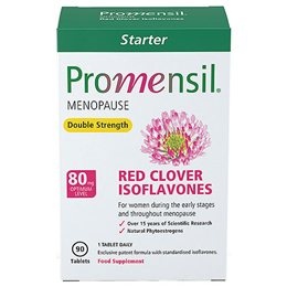 Promensil Double Strength - Red Clover Isoflavones - 90 Tablets