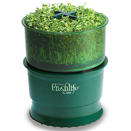 Tribest Freshlife Automatic Sprouter FL-3000 - Producing Fresh Sprouts