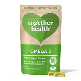 Together Omega 3 - From DHA Rich Algae - 30 Softgels