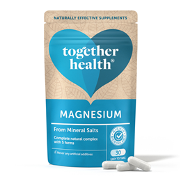 Together Magnesium - From Natural Marine Salts - 30 Vegicaps