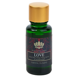 madebyzen Essential Oil Blend - Love - Rose Otto - 15ml