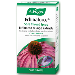 A Vogel Echinaforce Sore Throat Spray - Echinacea & Sage Extract -30ml
