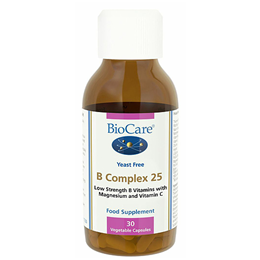 BioCare B Complex 25 - Low Strength B Vitamins - 30 Vegicaps