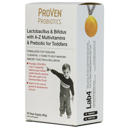 ProVen Probiotics Toddler Prebiotic with A-Z Multivitamins - 60g