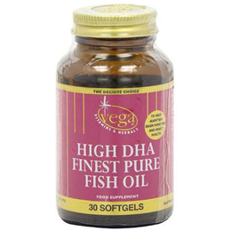 Vega Nutritionals High DHA Finest Pure Fish Oil - 30 Softgels