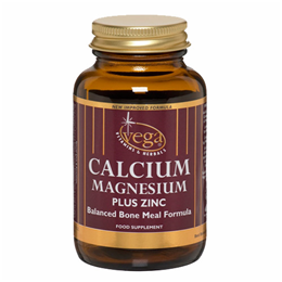 Vega Nutritionals Calcium Magnesium plus Zinc - 60 Vegicaps