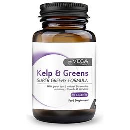Vega Nutritionals Kelp Plus Greens Formula - 60 Vegicaps