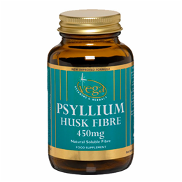 Vega Nutritionals Psyllium Husk Fibre 450mg - 30 Vegicaps