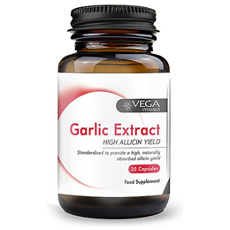 Vega Nutritionals Garlic Extract High Strength - 30 Capsules