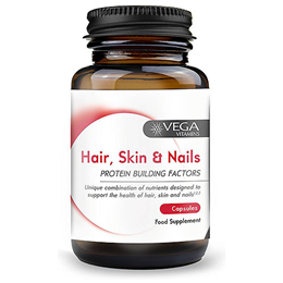 Vega Nutritionals Hair Skin Nails Formula - 60 Capsules