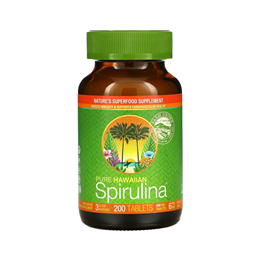 Nutrex Pure Hawaiian Spirulina - 200 x 500mg Tablets