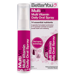 BetterYou MultiVit - Complete Multi Vitamin Oral Spray - 25ml