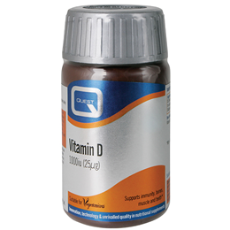 Quest Vitamin D 1000iu - Immunity & Bone Support - 180 Tablets