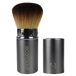 EcoTools Recycled Aluminium Retractable Kabuki Brush- Make Up Brush