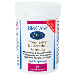 BioCare Pregnancy & Lactation Formula - 60 Vegicaps